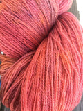 Hand Dyed Berry Merino Lace Yarn