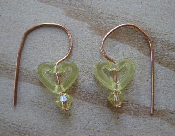 Insouciant Studios Plastic Fantastic Earrings in Yellow