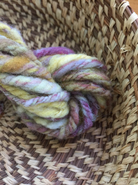 Insouciant Studios Hand Spun Yarn Mother Earth Mini Skein