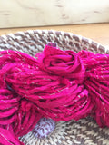 Insouciant Studios Hand Spun Silk Yarn Roses are...