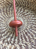 Rosy Copper Mini Bottom Whorl Drop Spindle