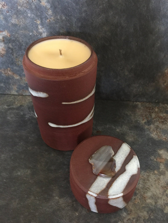 Rustic Soy &Bee Treasure Candle