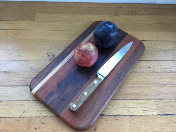 Small Walnut, Cherry and Maple Board