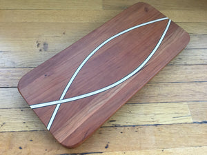Ichthys Maple & Cherry Serving Board
