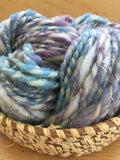 Blueberry Pie Hand Spun Yarn