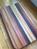 Large Walnut, Cherry, and Black Locust Board XXI
