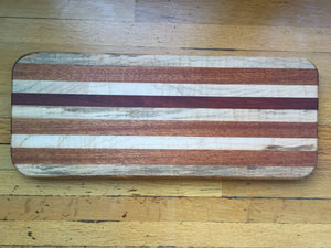 Medium Mahogany and Maple Board
