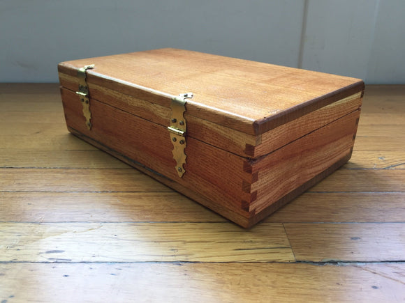 Oak, Honey Locust and Mahogany Box
