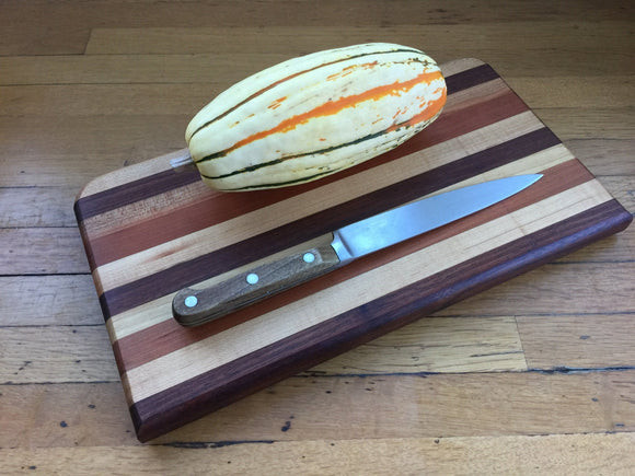 Cutting and Serving Board Walnut, Maple, Cherry