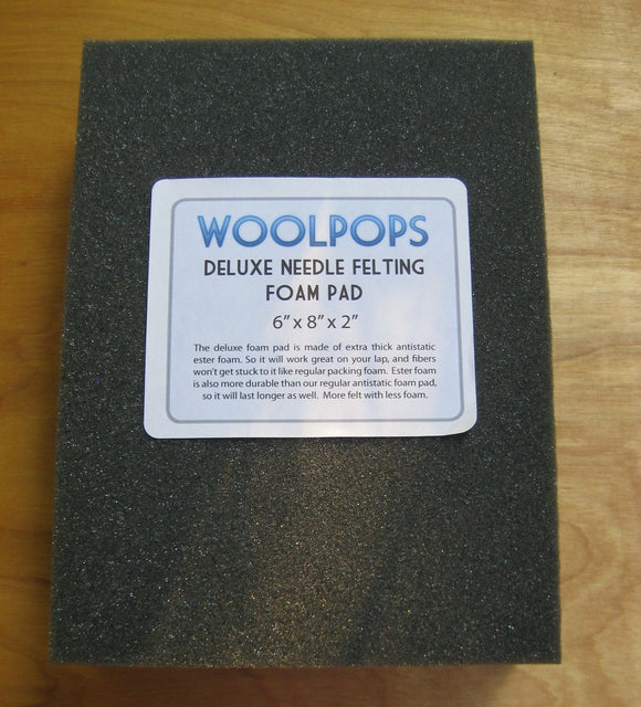 Woolpops Deluxe Antistatic Needle Felting Ester Foam Pad