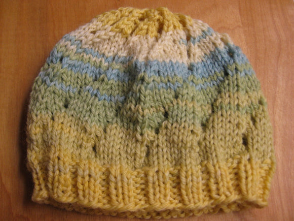 Insouciant Studios Hand Knit Garden Baby Hat