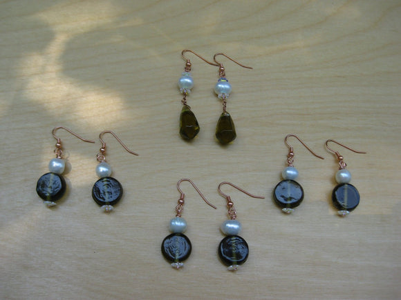 Insouciant Studios Loch Earrings 4 Pair Gift Set
