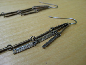 Insouciant Studios Industry Antique Steel Earrings