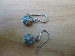 Insouciant Studios Chinatown Earrings Cloisonne