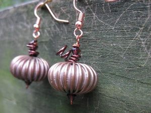 Insouciant Studios Pumpkin Earrings