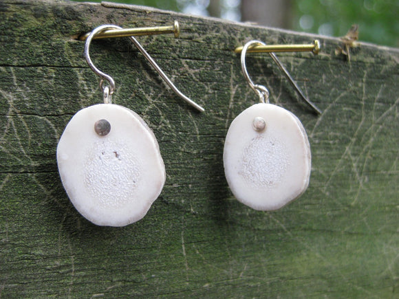 Alpine Earrings Deer Antler