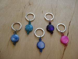 Tropique Set of 5 Stitch Markers