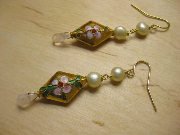 Insouciant Studios Cherry Blossom Earrings