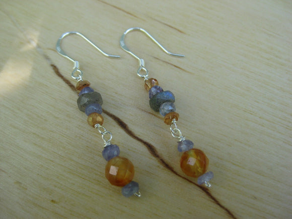 Insouciant Studios Marigold Earrings Sterling Silver Pearl