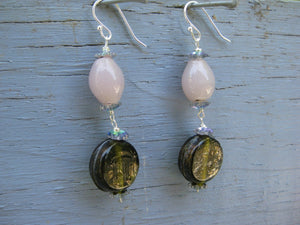 Insouciant Studios Lavender Earrings