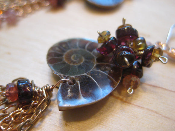 Insouciant Studios Nautique Ammonite Earrings