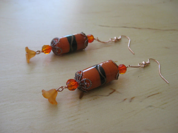 Autumn Lantern Earrings