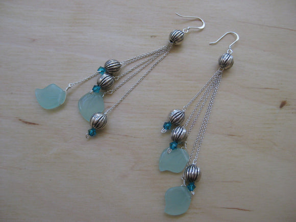 Insouciant Studios Frosted Seed Pod Earrings