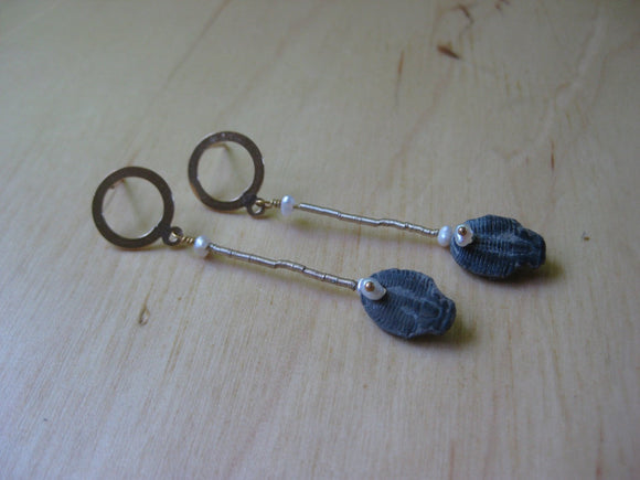 Artistry Trilobite Earrings