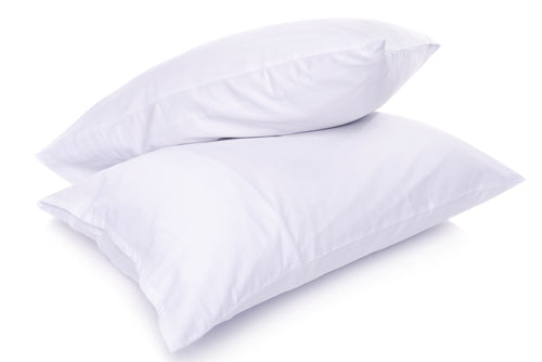 White 600 Thread Count Egyptian Cotton Pillowcases
