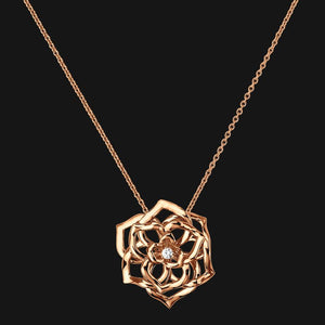18k Bloom Pendant