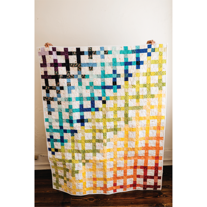 Scrappy Summer Quilt - Free Pattern