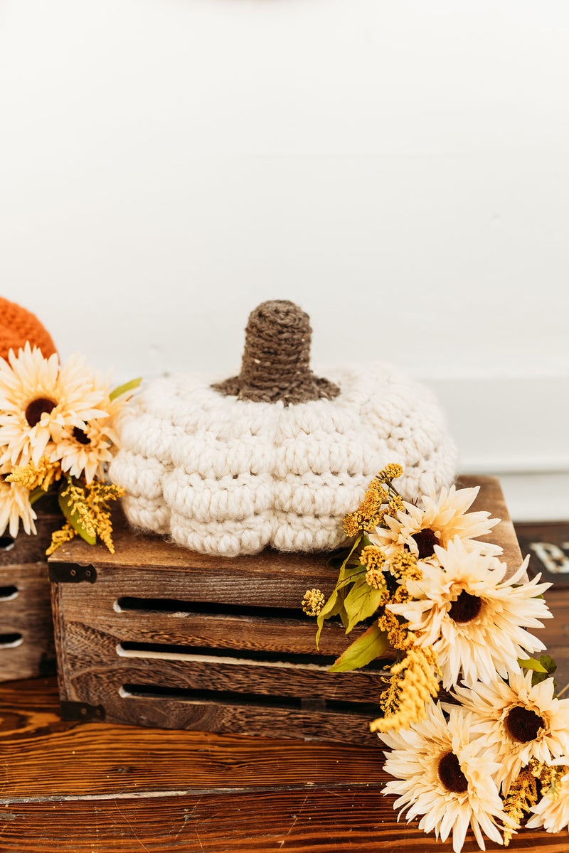 Bobble Pumpkin - PDF Crochet Pattern