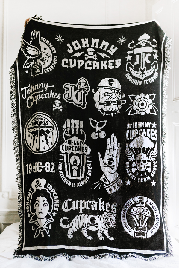 JC Flash Woven Blanket