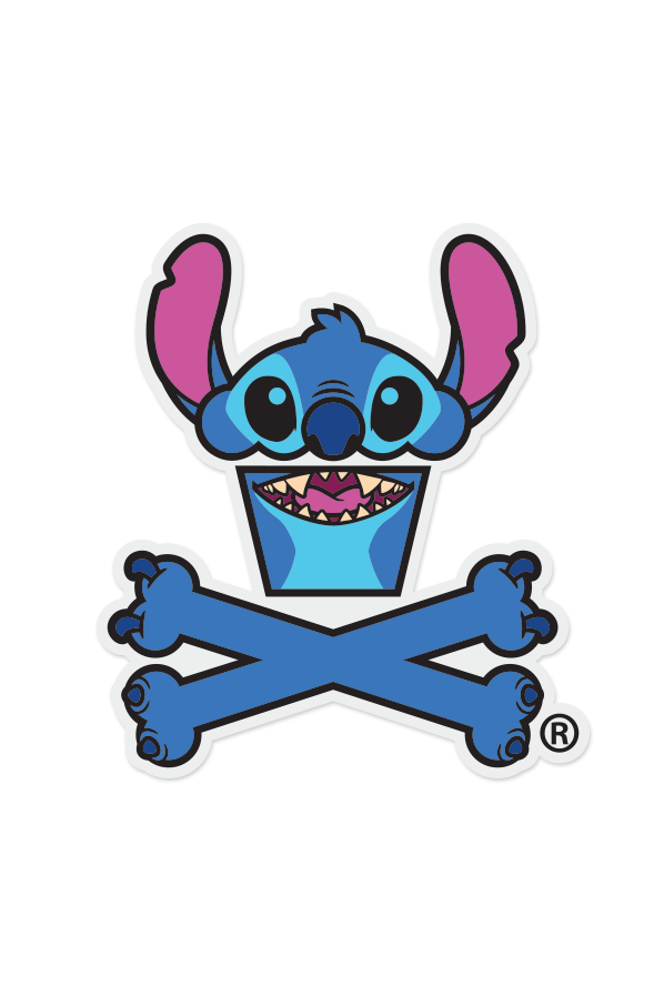 Kitch-en Island Crossbones Sticker