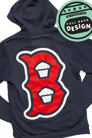 Boston B Zip Up (BOSTON EXCLUSIVE)