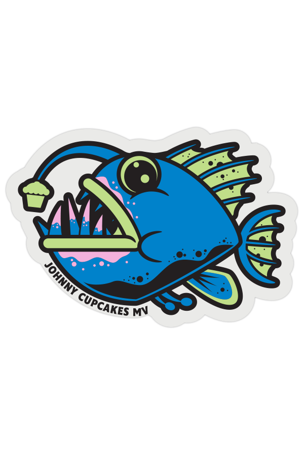 MV Unordinary Fish Sticker