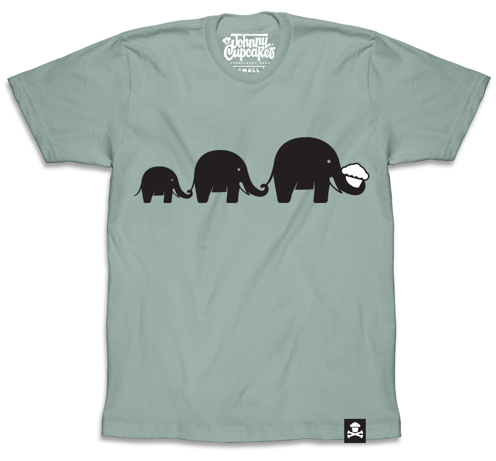 Elephant (Dusty Blue)