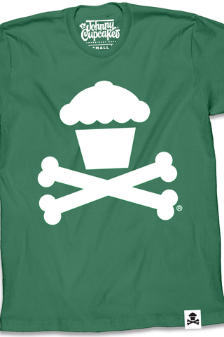 Green/White Crossbones