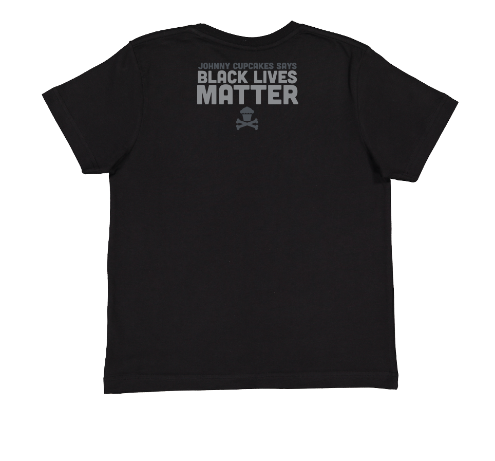 KIDS Johnny Cupcakes Says Black Lives Matter