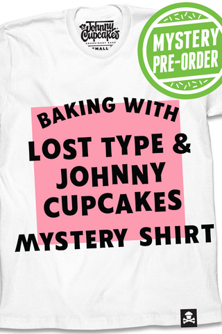 Baking With Lost Type & Johnny Cupcakes Collab T-shirt