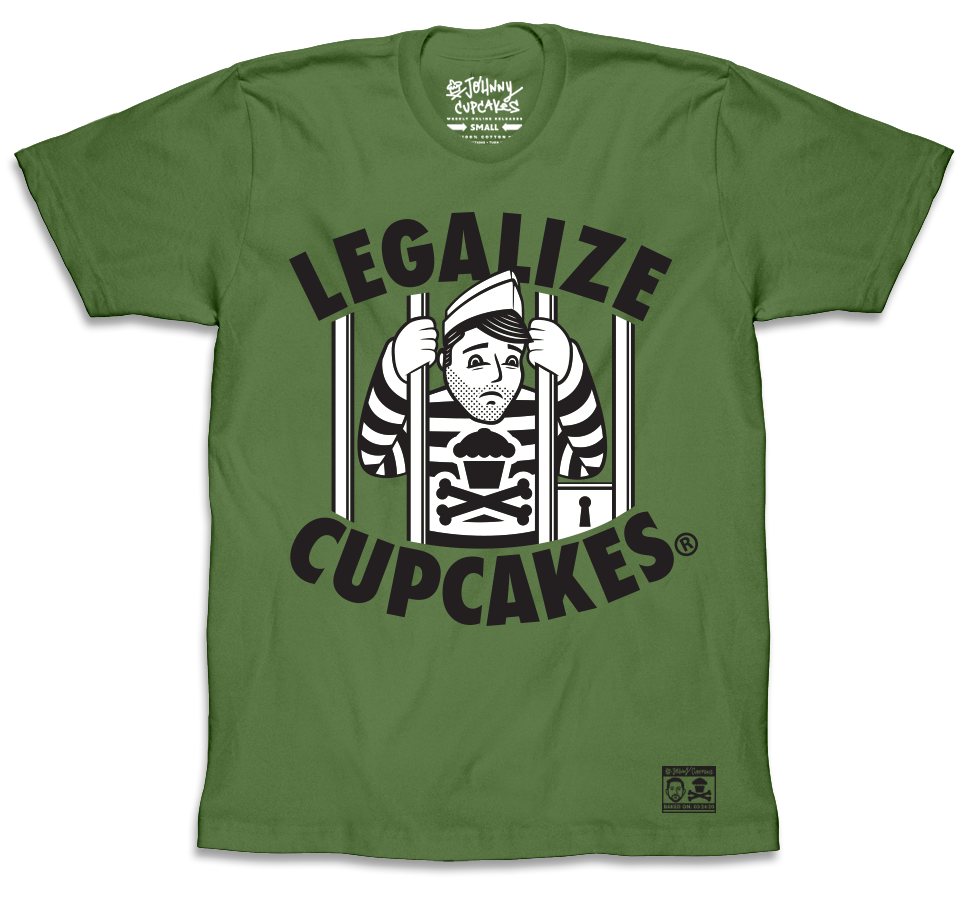 Legalize Cupcakes Green