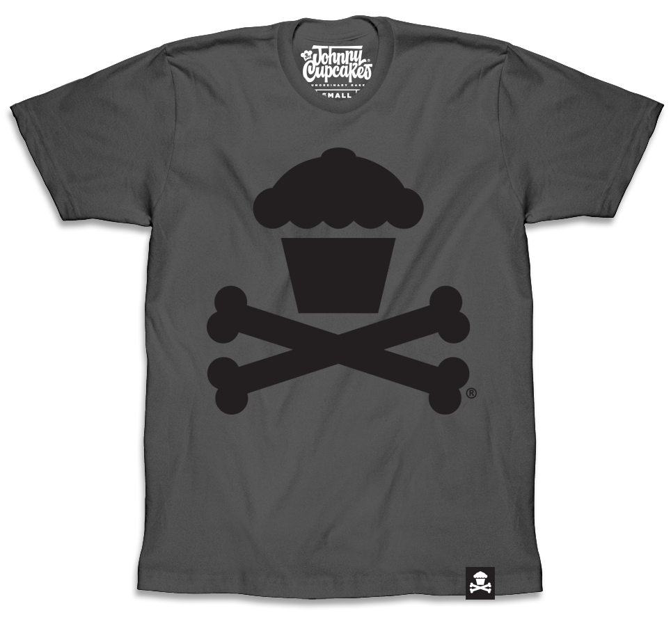 Grey / Black Crossbones