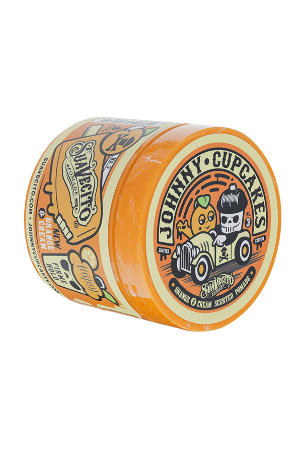 Firme/Strong Hold Suavecito Pomade (Orange & Cream)