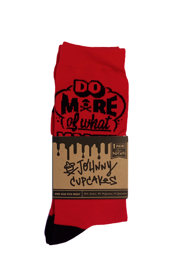 Red Happiness Socks