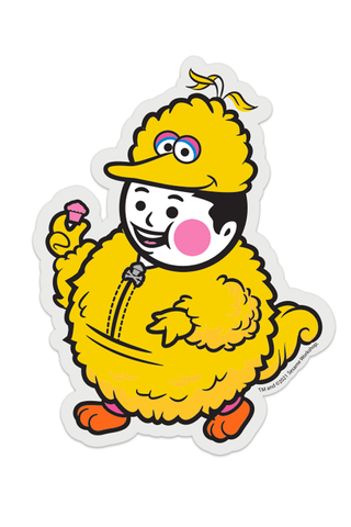 Big Kid Big Bird STICKER