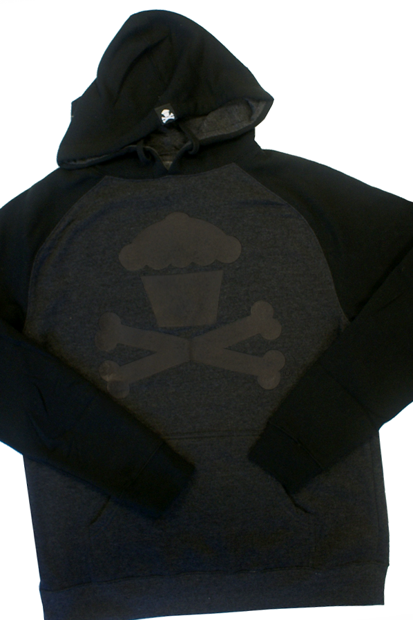 Two Tone Crossbones Pullover