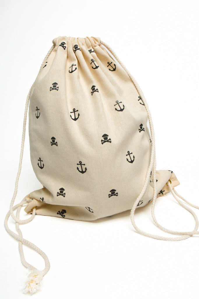 Anchor Drawstring Bag