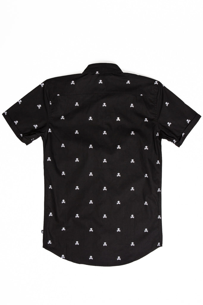 Classic Crossbones Button Up