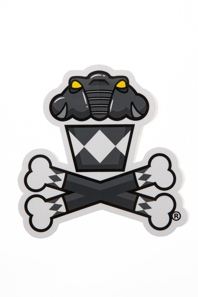 Power Rangers Black Ranger Sticker