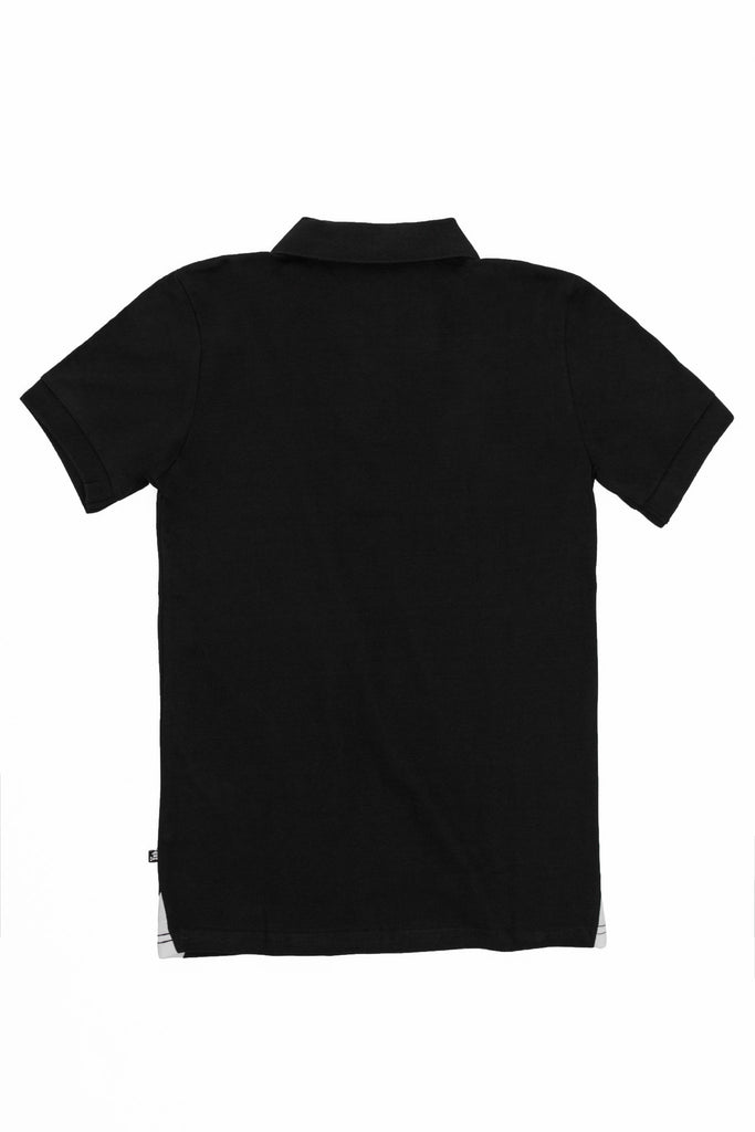 Crossbones Polo (Black)